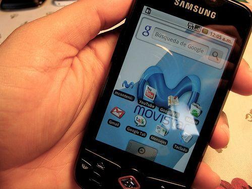 Samsung Galaxy Spica de Movistar
