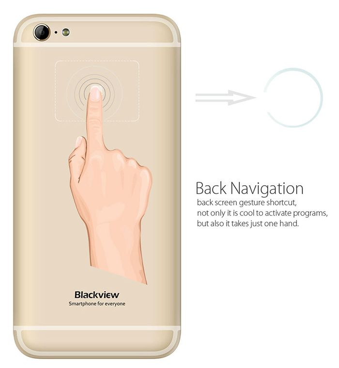 Back Navigation en Blackview Ultra 2015