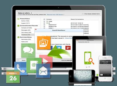 EaseUS MobiSaver para dispositivos iOS