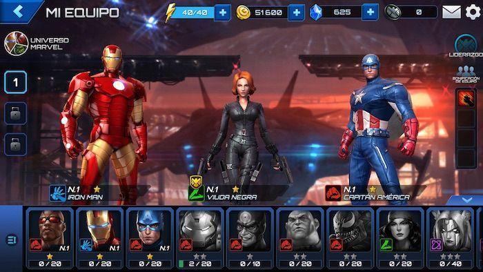 Marvel Future Fight, el juego de la película The Avengers: The Age of Ultron