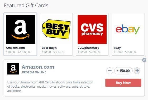 Compra Gift Cards y Suscripciones pagando con PayPal
