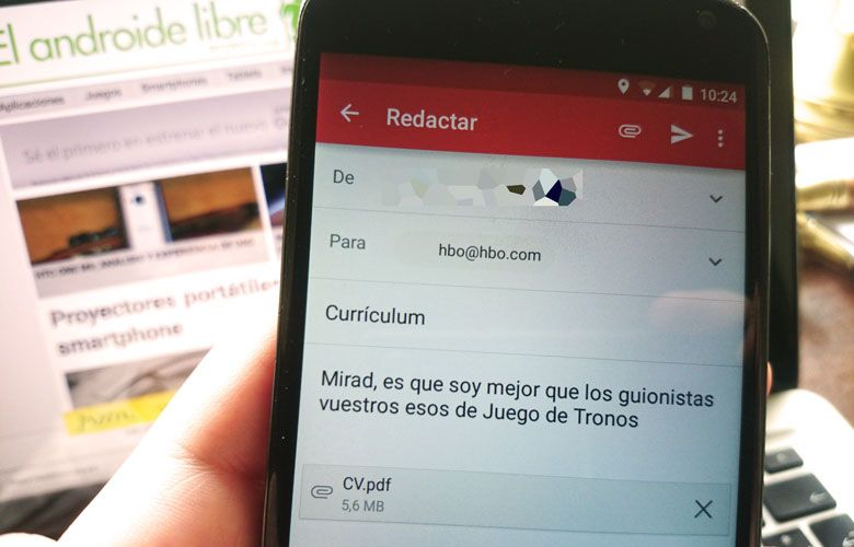 Gmail se actualiza a la version 5.6