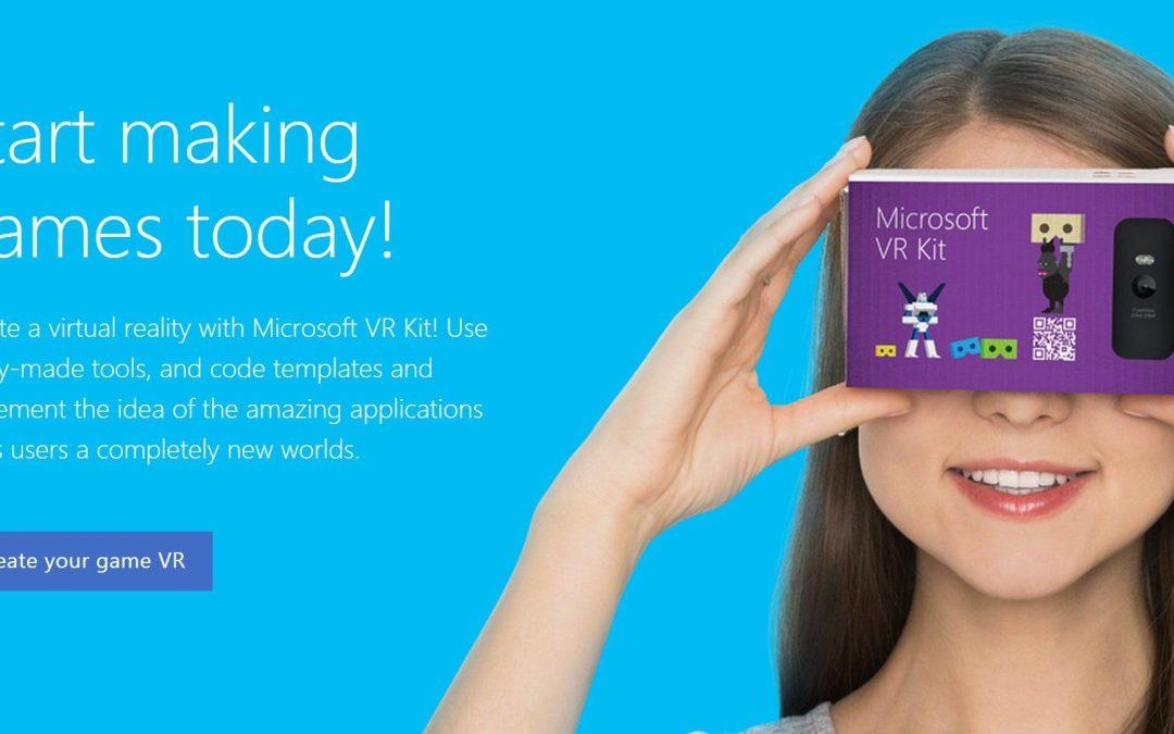 Microsoft tambien apuesta a tener su casco de realidad virtual