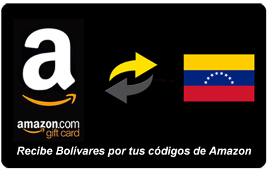 Cambiar Gift Cards de Amazon.com a Bolívares