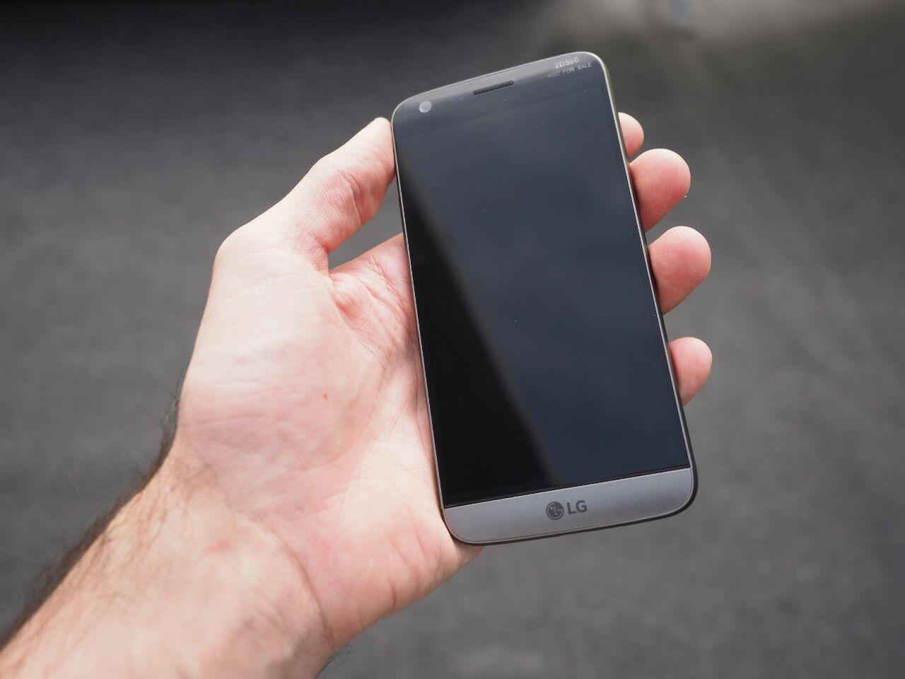 El teléfono estrella de LG (LG G5) ha llegado