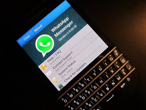 WhatsApp desaparecerá para Blackberry
