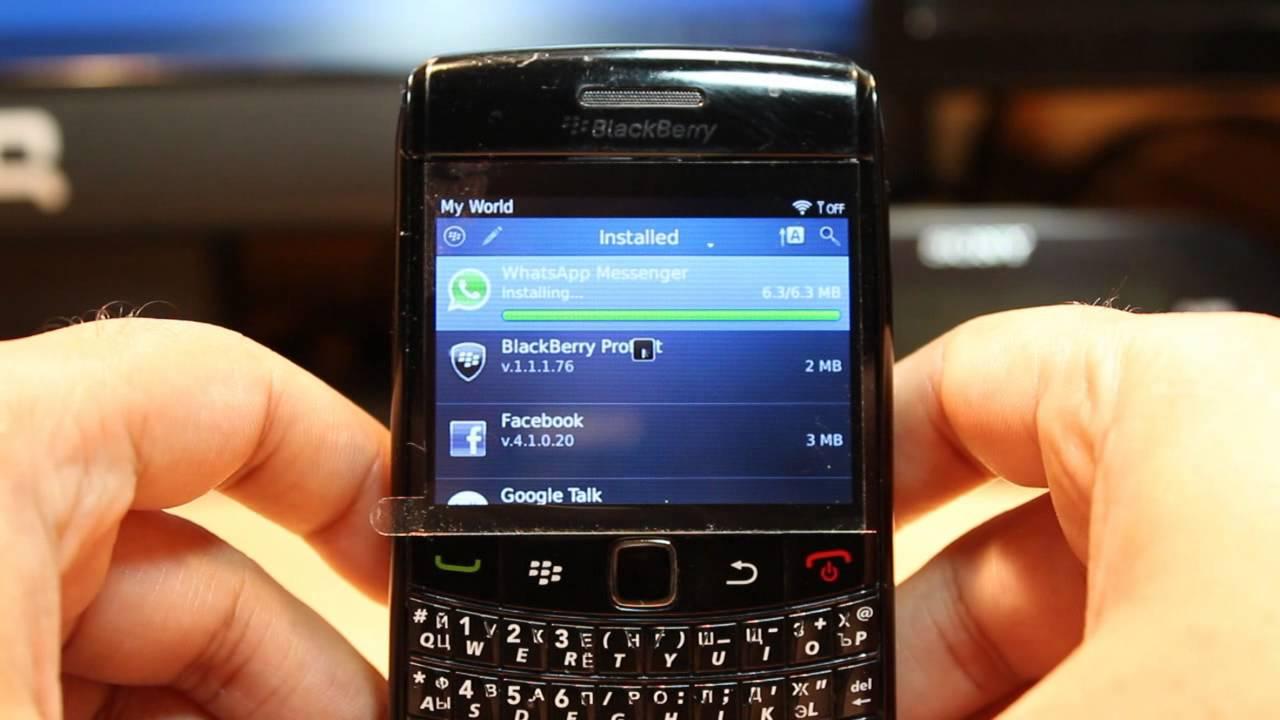 WhatsApp dejara de funcionar para BlackBerry
