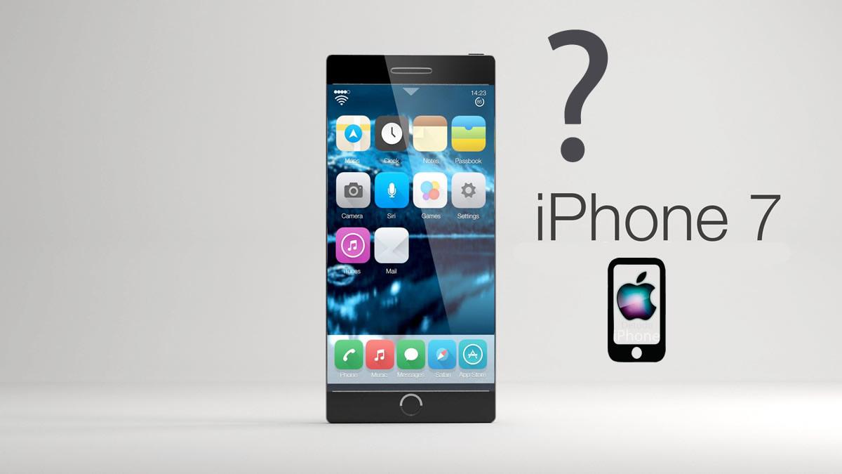 Este sera el nuevo diseño del iPhone 7.  ¿Nuevo e innovador?