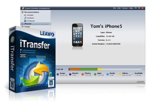 Leawo iTransfer, un programa para administrar y respaldar tu dispositivo iOS