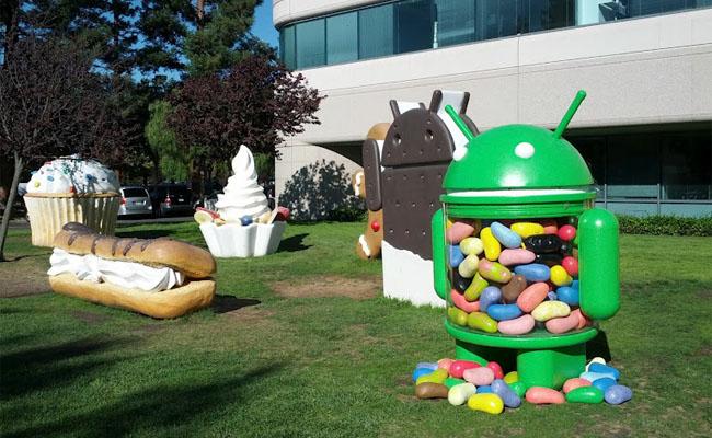 Los sistemas operativos de Android se caracterizan por llevar nombres de postres.