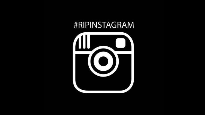 La etiqueta #RIPInstagram lleva mas de 4.500 publicaciones donde los usuarios manifiestan este cambio