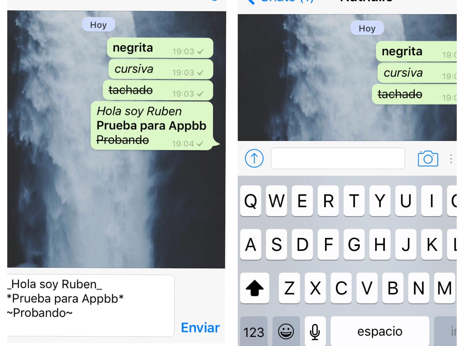 Ahora tendrás nuevos estilos a la hora de chatear, con la nueva actualización de WhatsApp.