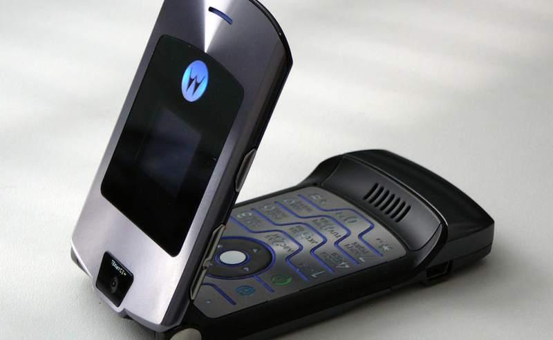 Volverá el famoso Motorola Razr V3