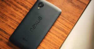 Google Lg Nexus 5X. Color Negro.