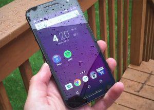 Motorola Moto G 3ra Generación. Aprueba de agua.