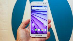 "Motorola Moto G 3ra Generación. Pantalla 5"" HD 720p"