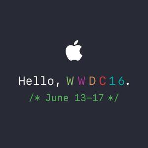 El WWDC16 sera realizado entre el 13 y el 17 de Junio en San Francisco.