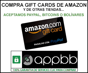 Compra en Amazon con PayPal/Bitcoins/Bolivares