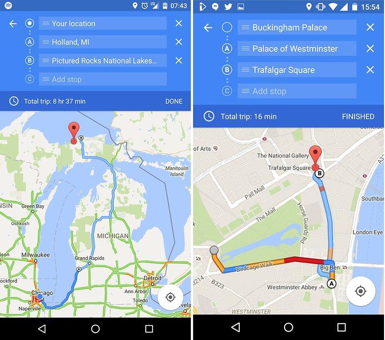 La nueva actualización de Google Maps nos permitirá trazar nuestra ruta.