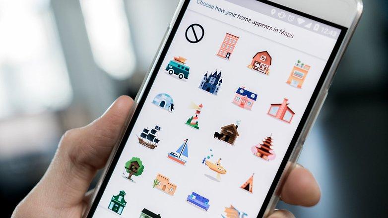 Podremos añadir iconos a lugares como nuestra casa, trabajo, etc..