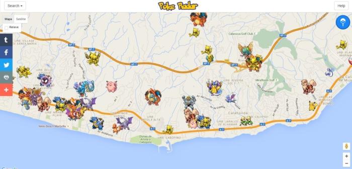 Conoce la ubicación de ese pokemon que necesitas con PokeRadar GO
