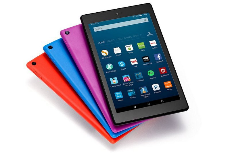LA nueva tablet de Amazon Fire HD 8