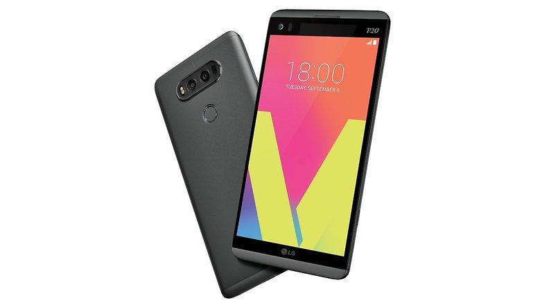 LG presenta el sucesor del V10 el nuevo modelo V20