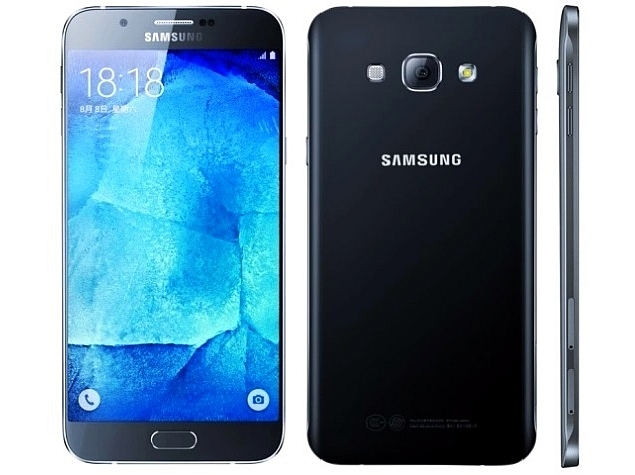 Nuevo modelo Galaxy A8 fino y elegante terminal