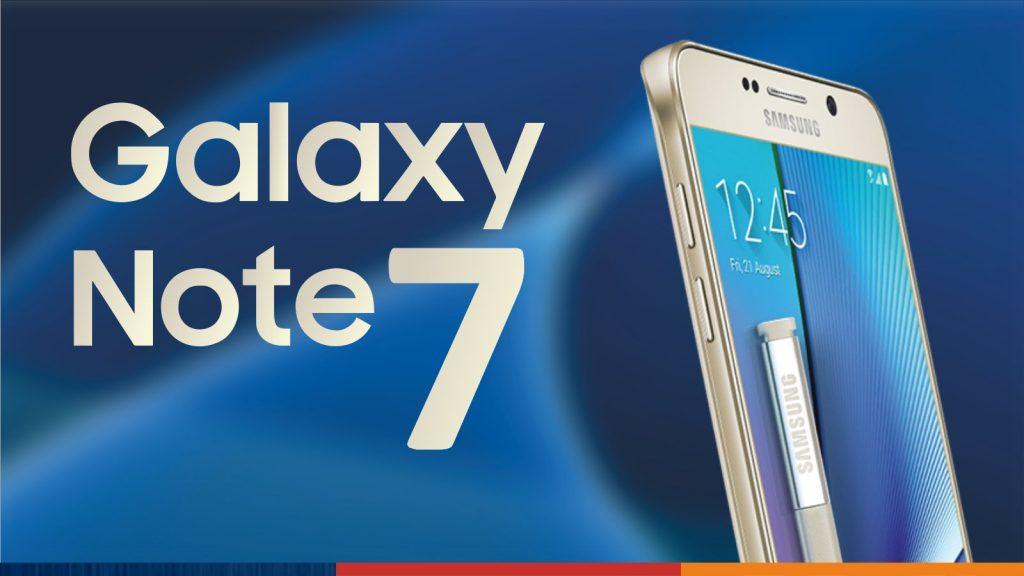 Samsung detiene sus ventas del Samsung Galaxy Note 7 por dispositivos averiados