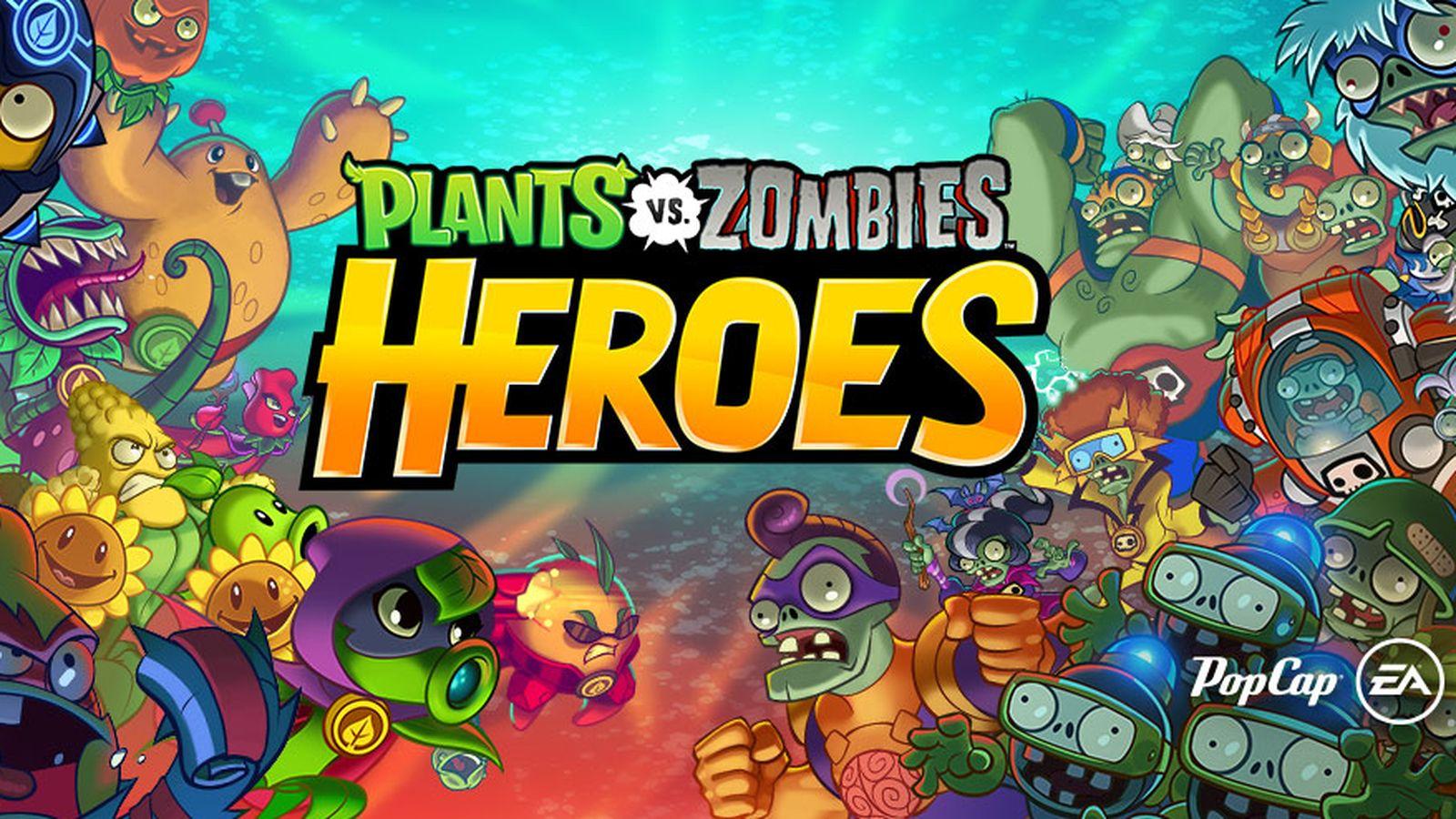 Electronics Arts ha lanzado su nuevo juego de Plants VS Zombies.