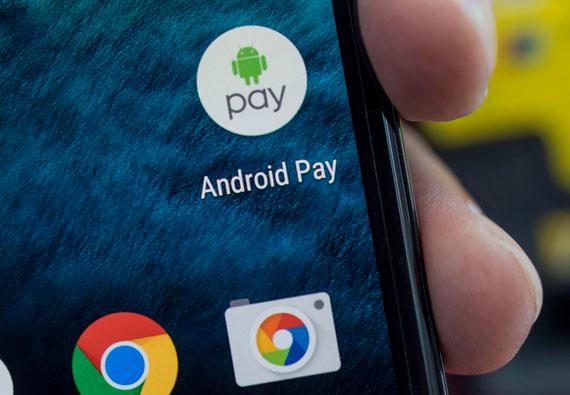 Android Pay permitirá pagar en tiendas online