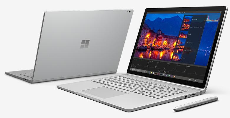 Surface Book llega con una gran potencia al mercado siendo el rival n° 1 ante la MackBook de Apple.