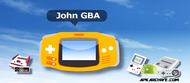 John GBA el mejor emulador para android