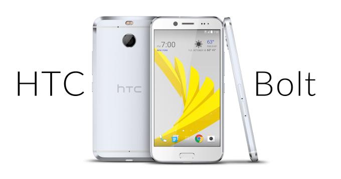 HTC Bolt el nuevo Smartphone de la firma