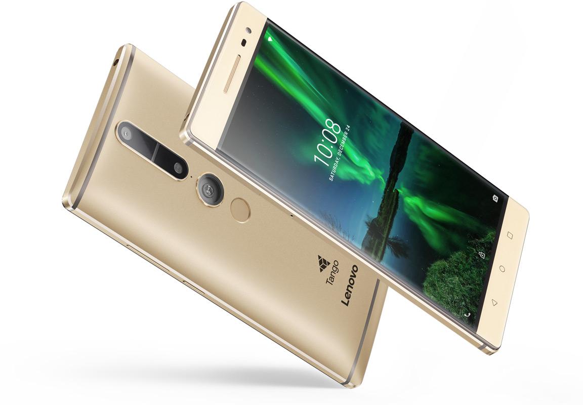 Lenovo Phab 2 Pro el nuevo Smartphone orientado a la realidad aumentada gracias a Tango.