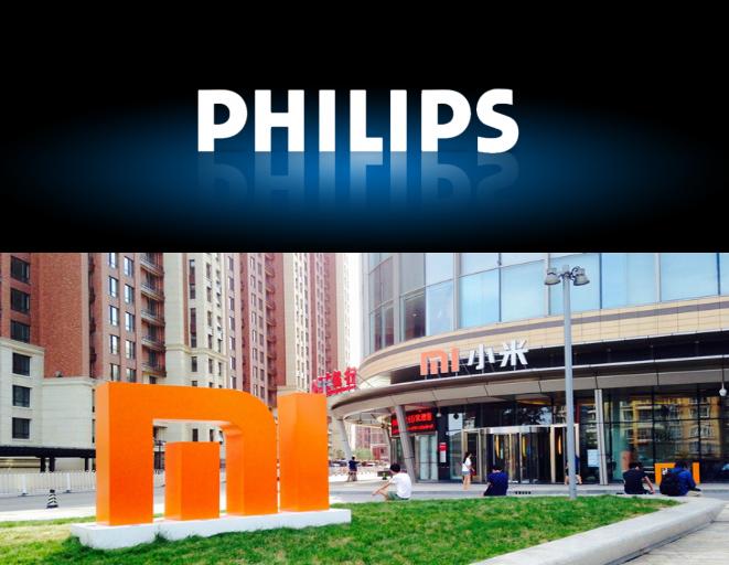 Xiaomi y Phillips se unen para el desarrollo de tecnologia domotica.