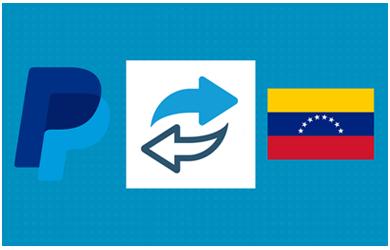 recargar PayPal con Bolívares o cambiar PayPal a Bolívares