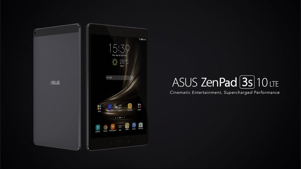 La compañía presenta oficialmente la nueva Asus Zenpad 3s 10 LTE y sorprenden a todos.