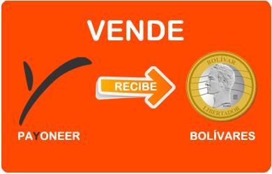 Comprar o Vender saldo Payoneer con Bolívares