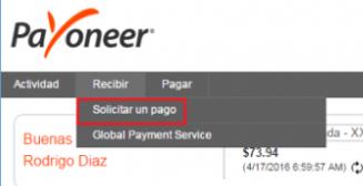 comprar o vender saldo Payoneer en Bolívares