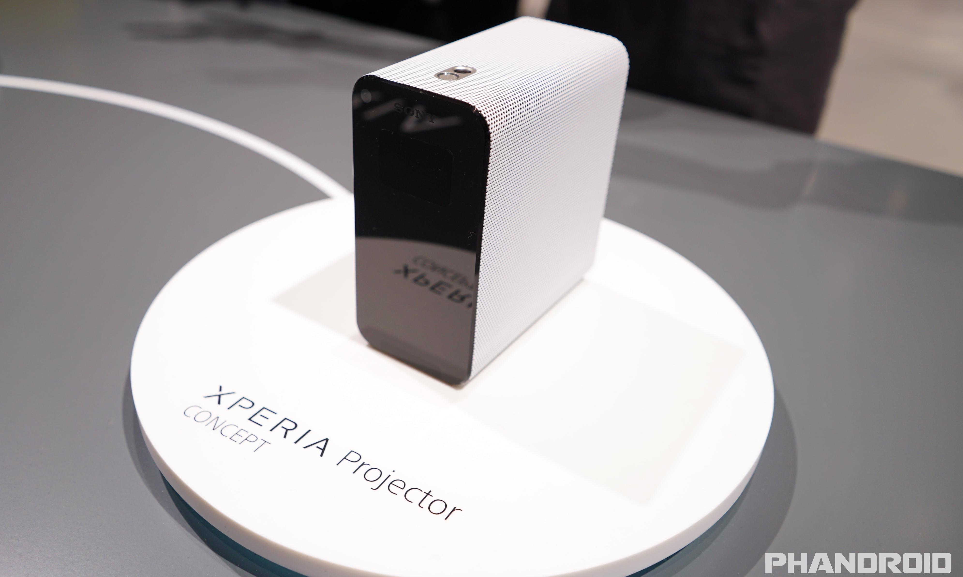 Un concepto unico en el nuevo dispositivo de la compañia el Sony Xperia Projector