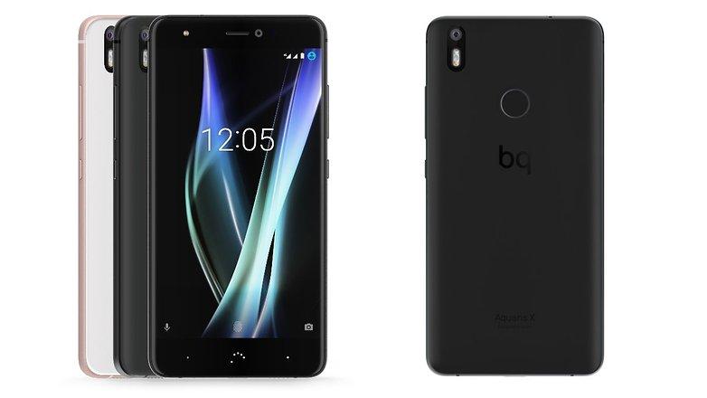 BQ Aquaris X y X Pro dos nuevos Smartphones de la compañía con un parecido prácticamente indiscutible.