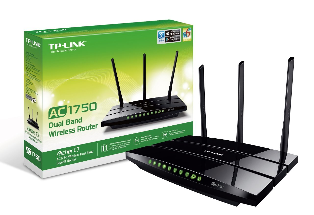 TP Link Archer C7 mayor velocidad y solución para tu hogar gracias a su doble banda
