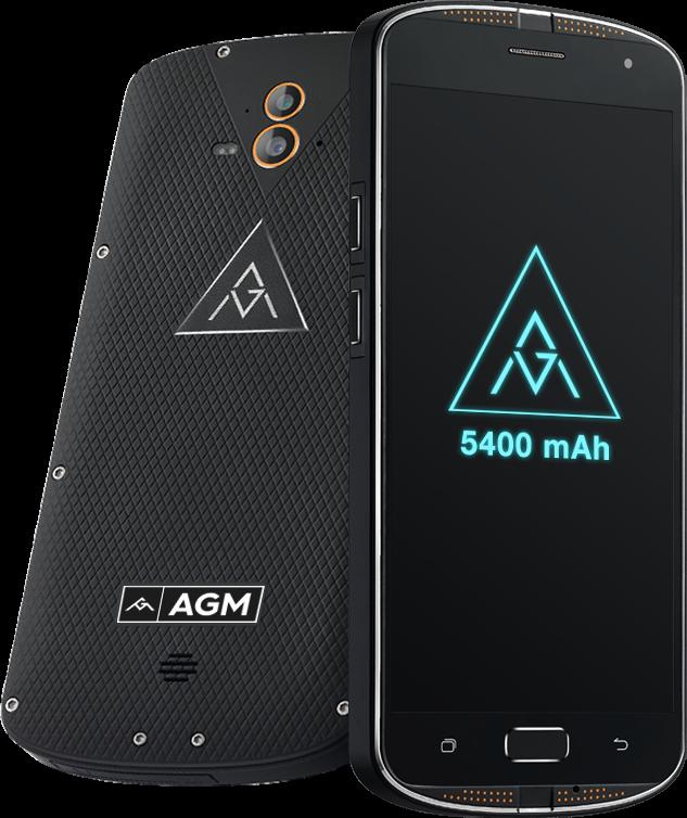 Te presentamos al nuevo AGM X1 un Smartphone resistente con doble cámara y certificación IP68.