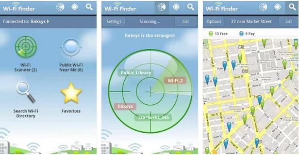 WiFi Finder una gran opción a tener en cuenta.