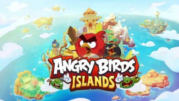 Angry Birds Island un nuevo juego de Rovio con el cual construirás y defenderás tus mapas.