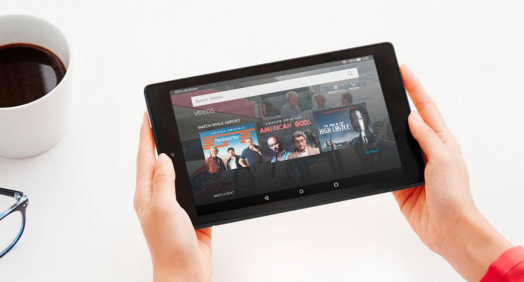 Nuevas tablets Fire 7 y Fire HD 8 de Amazon mejoradas y actualizadas.