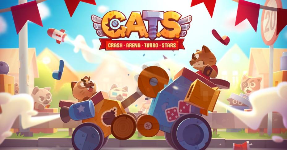 Cats Crash Arena Turbo Stars un grandioso videojuego que no debe faltar en tu dispositivo móvil.