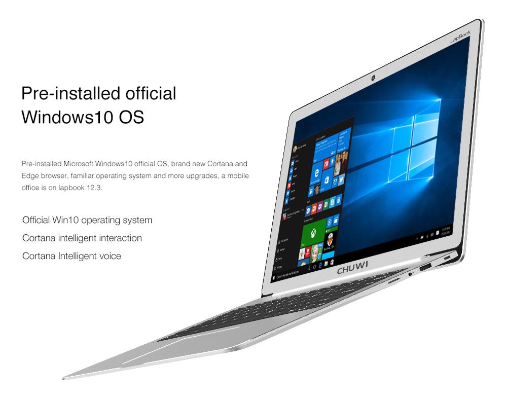 Nueva Chuwi LapBook con pantalla de resolución 2K y excelente precio