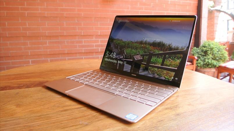 Huawei MateBook la nueva generación de portátiles presenta su modelo X con menos % de marcos.